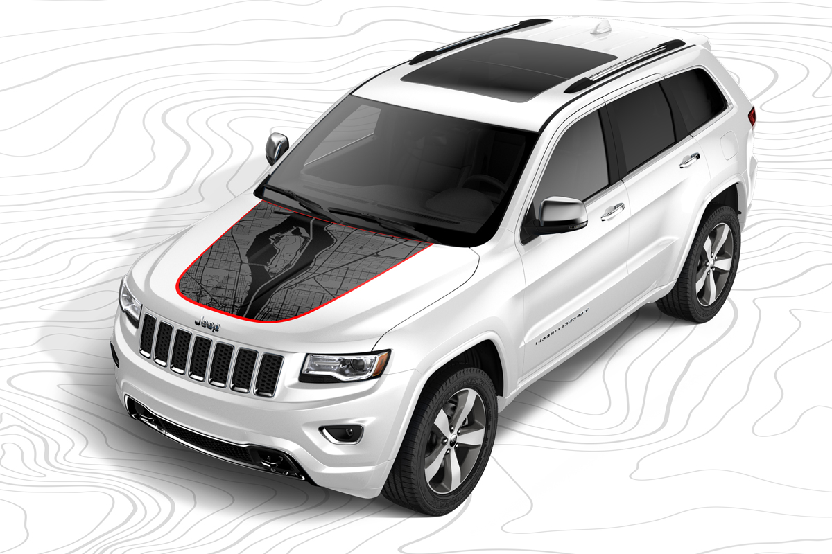 Jeep® Performance Parts Marks The Spot With New Custom Hood Decals U2013  Jeeplopedia