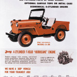 1959 Jeep Ad – CJ-3B