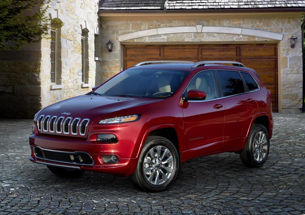 2016 Jeep® Cherokee Overland