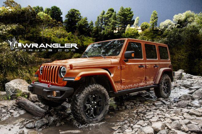 Wrangler Forum Releases New Sharper Jl Renderings Four Wheeler