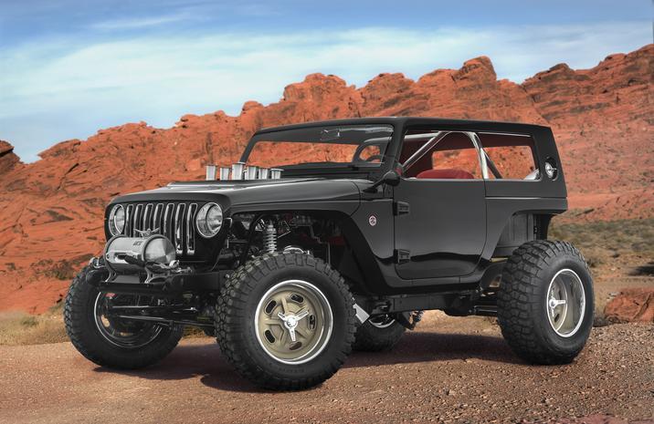 Mopar Underground 2017 Concept Jeep Quicksand Wrangler