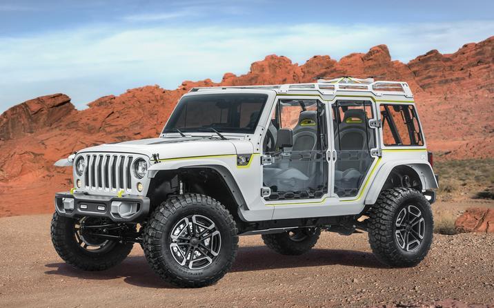 Mopar Underground 2017 Concept Jeep Safari Wrangler