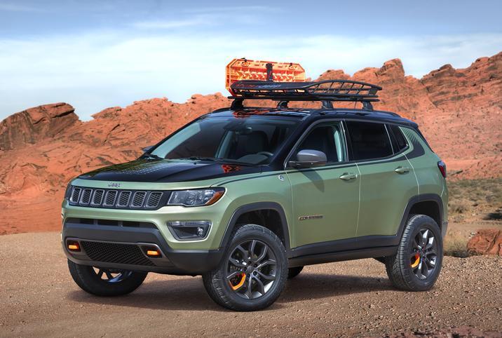 Mopar Underground 2017 Concept Jeep Trailpass Compass