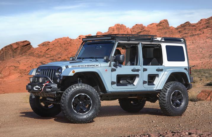 Mopar Underground 2017 Concept Jeep Switchback Wrangler