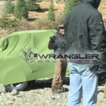 JL Wrangler Spotted on Commercial Set