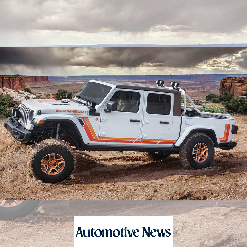 Jeep's latest Moab concepts: Gladiator in multiple flavors | Automotive News